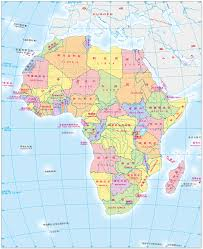 Map Of America With States by Africa Map