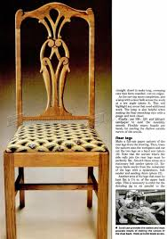 dining room chair plans u2022 woodarchivist