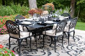 Tablecloth For Umbrella Patio Table by Design Tips And Tricks For The Best Outdoor Dining Spaces