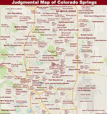 Southern Colorado Map by Judgmental Maps Colorado Springs Co By Anonymous Copr 2015