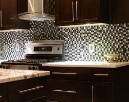 Aluminum Kitchen Backsplash Kitchen Subway Tiles With Mosaic Accents Backsplash Tumbled