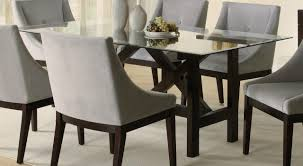 dining tables glamorous glass dining table sets marvelous glass
