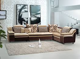 Small L Shaped Sofa Bed by Decor Small L Shaped Sofa In White Plus Rug And Side Table For
