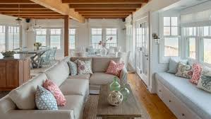 Decorating An Open Floor Plan Breezy Coastal Beach Cottage With Open Floor Plan 2015 Fresh