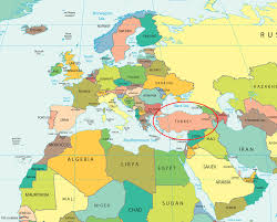 Western Europe Political Map by Where Is Turkey On The Map Adriftskateshop