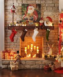 Homes With Christmas Decorations by 421 Best Christmas Mantels Images On Pinterest Christmas Ideas