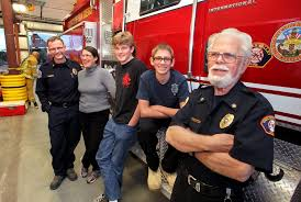 thanksgiving volunteer san diego rural firefighting is in family u0027s blood the san diego union tribune