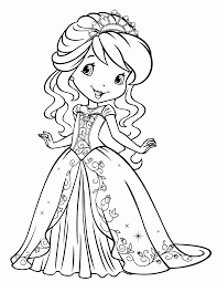 coloring pages of strawberry short cake coloring home