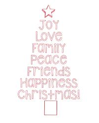 free printable christmas tree word art u0026 pillow idea crazy