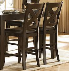 Counter Height Dining Room Tables by Homelegance Crown Point 7 Piece Counter Height Dining Room Set