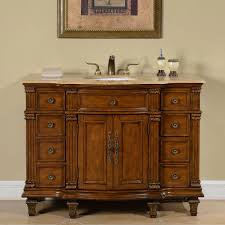 Accord  Inch Antique Single White Sink Bathroom Vanity - 48 bathroom vanity antique white