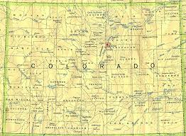 Map Of Colorado And Surrounding States by Colorado Outline Maps And Map Links