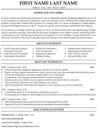 Quality Inspector Resume  automotive service technician resume     happytom co Automotive Service Technician Resume Sample   quality inspector resume