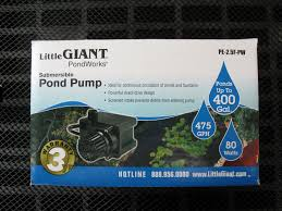 Little Giant Water Pumps How To Build A Disappearing Water Fountain