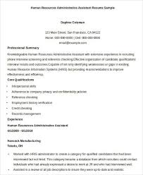 Human Resources Resume Samples by Executive Resume Templates 28 Free Word Pdf Documents Download