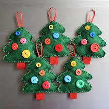 homemade christmas decorations with felt u2013 unique diy home decor