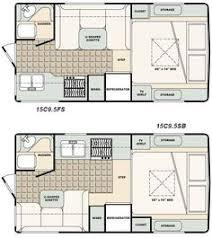 Caravan Floor Plan Layouts Micro Floor Plans Palomino Gazelle Micro Lite Travel Trailer