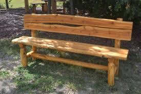 Build Wood Garden Bench by Rustic Wooden Benches Outdoor Photo Pixelmari Com