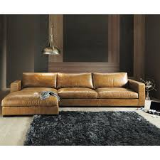 Costco Living Room Brown Leather Chairs Furniture Best Design Of Brown Leather Sectional For Modern
