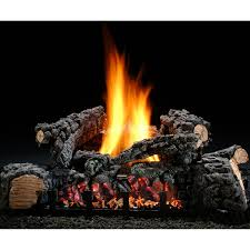 hargrove 22 inch highland glow vent free propane gas log set