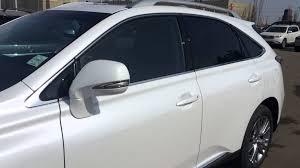 lexus wheels paint code 2014 lexus rx 350 awd white starfire pearl on black touring
