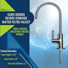 Euro Design Kitchen Amazon Com Ronaqua Water Filter Purifier Faucet European Style