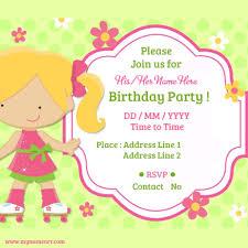 Create Birthday Invitation Card Online How To Make Birthday Invitations U2013 Gangcraft Net