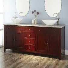 55 Inch Double Sink Bathroom Vanity by Decorations Double Vanity With Makeup Area Vanity At Home Depot
