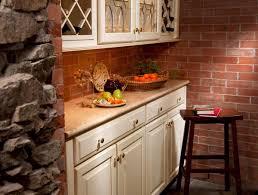 Traditional Kitchen Designs Interior Design Traditional Kitchen Design With Brick Wall And