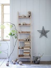 Ladder Bookshelf Pottery Barn Furniture Appealing Collection Of Rustic Ladder Shelf Shows