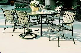 Mesh Patio Chairs by Furniture Pair Wrought Iron And Mesh Lounge Chairs By Woodard