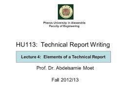 Technical Writing Status Report TU Chemnitz It Technical Proposal Template It Technical Proposal Template