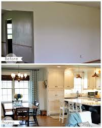 opening up a kitchen dining area 2 wall removal added an