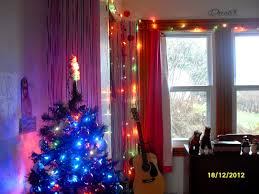 christmas christmas lights in room