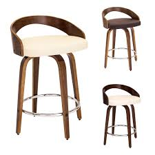 furniture fantastic mid century bar stools with wood material for