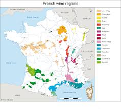 Map Of Italy Regions by France Map Of Vineyards Wine Regions