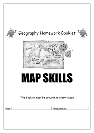 Map Skills Homework Booklet   Geography by sbladen   Teaching