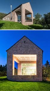 Home Modern 14 Modern Houses Made Of Brick Contemporist