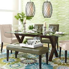 Rectangle Glass Table Top Pier  Imports - Pier one dining room sets