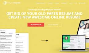 Free Resumes Builder Online by Free Resume Hosting Provider And Online Resume Builder Resume
