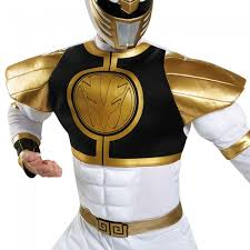 white ranger classic muscle disguise