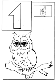 number coloring pages for toddlers coloring page