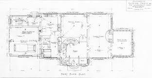 residence biltmore forest lawrence jones first floor plan home