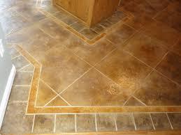 floor tile patterns concrete kitchen floor random tile pattern