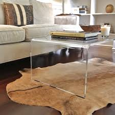 Lucite Dining Room Table Acrylic Coffee Table Safavieh Highline Collection Charleston
