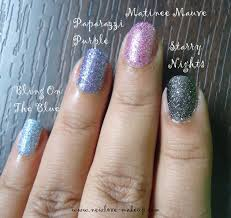 new love makeup reviews the color show glitter mania collection