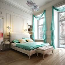 White Headboard Room Ideas Foxy Design Ideas Using White Loose Curtains And Rectangular White