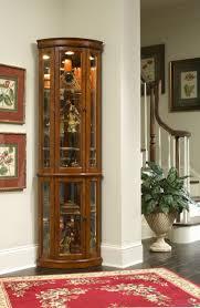Corner Living Room Cabinet by Curio Cabinet Corner Curioet Wheel Of Fortune Stirring Black