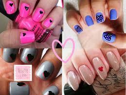 valentine nail art for 2015 beauty life