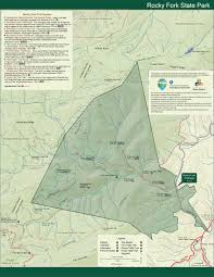 State Of Tennessee Map by Park Trail Maps U2014 Tennessee State Parks